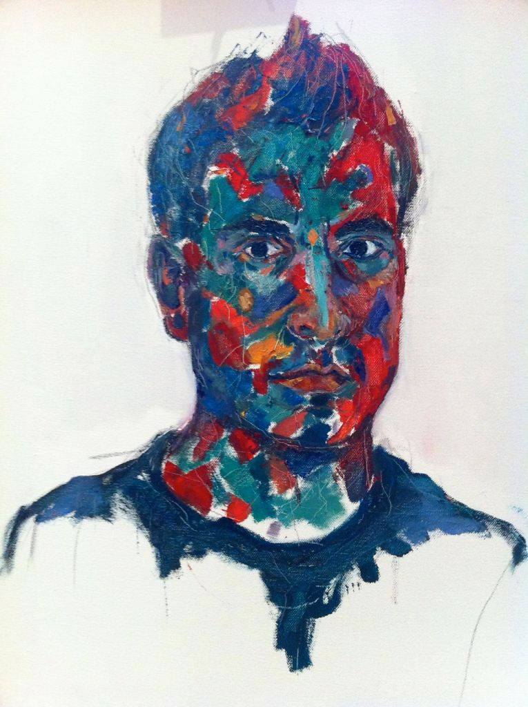 Self-portrait 4