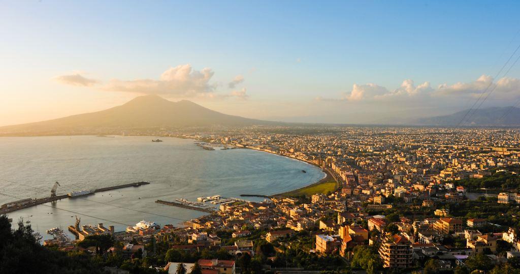 Bay of Naples, from Castellammare di Stabia