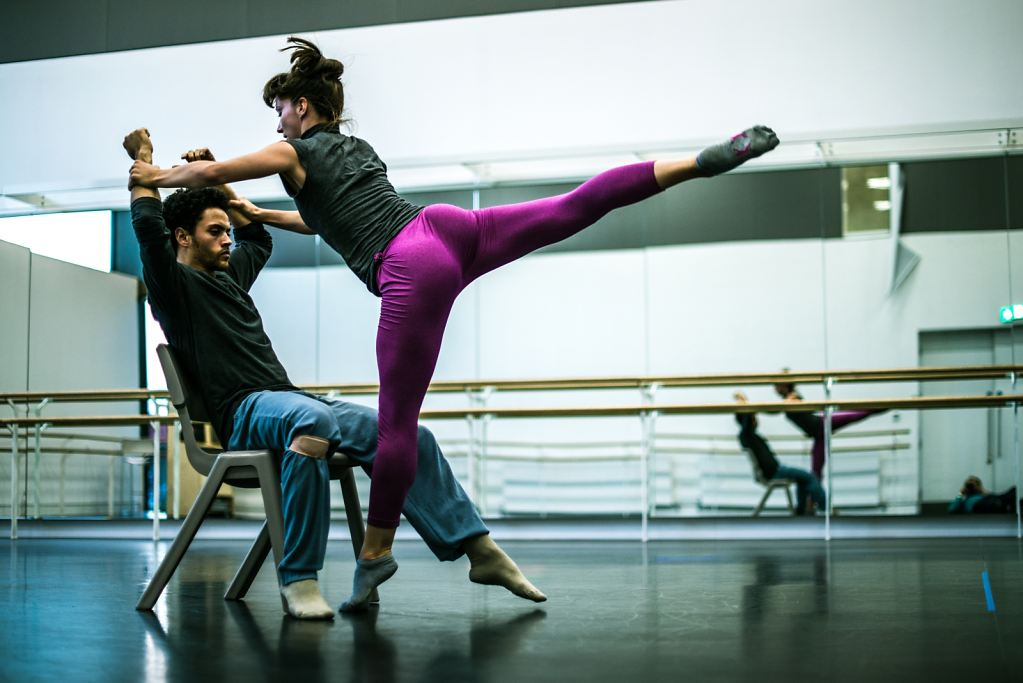 Amy Thake and Dane Hurst at Rambert