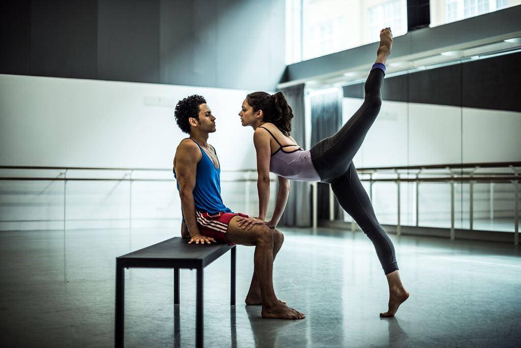 15 Dane Hurst and Romany Pajdak Dance the Breaking Through duet from 'Finding Freedom'