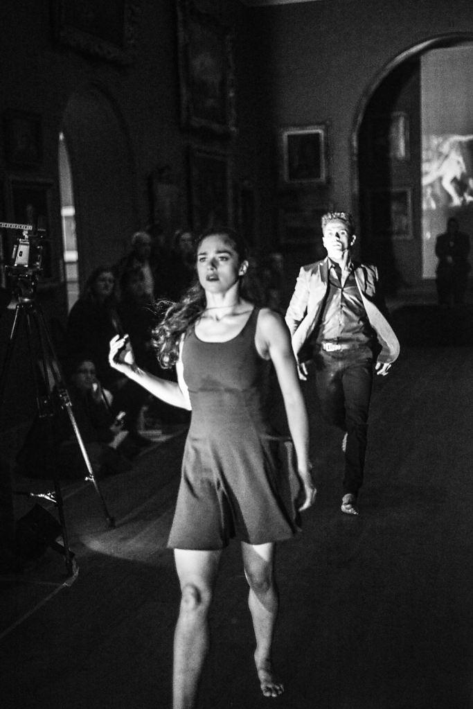 18 Dane Hurst and Romany Pajdak Dance the Breaking Through duet from 'Finding Freedom'
