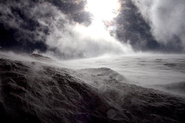 Snowstotm, Col de Gentiannes, Verbier