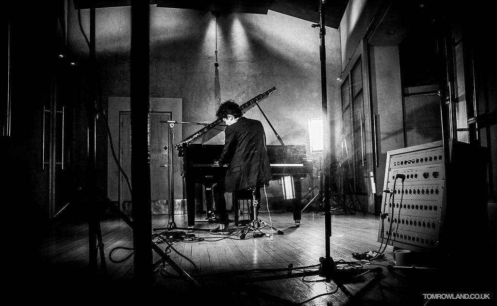 Jamie Cullum in Metropolis Studios