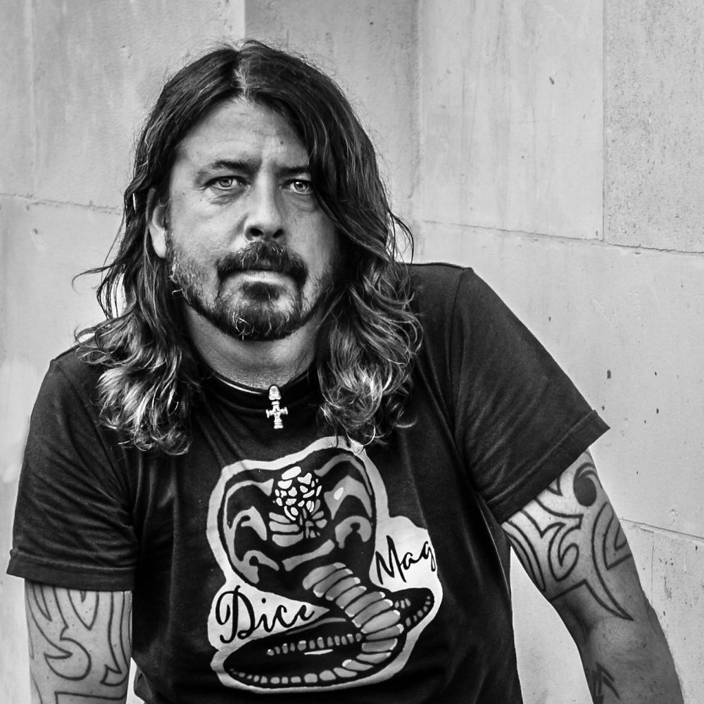 Portrait of Dave Grohl