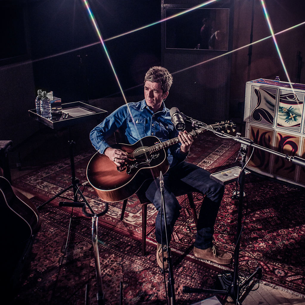 Noel Gallagher Recording in Metropolis Studio A