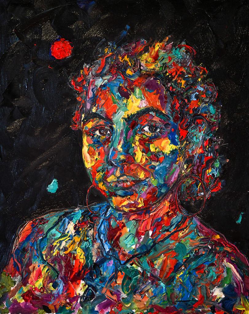 Portrait of Chiara Brokaw