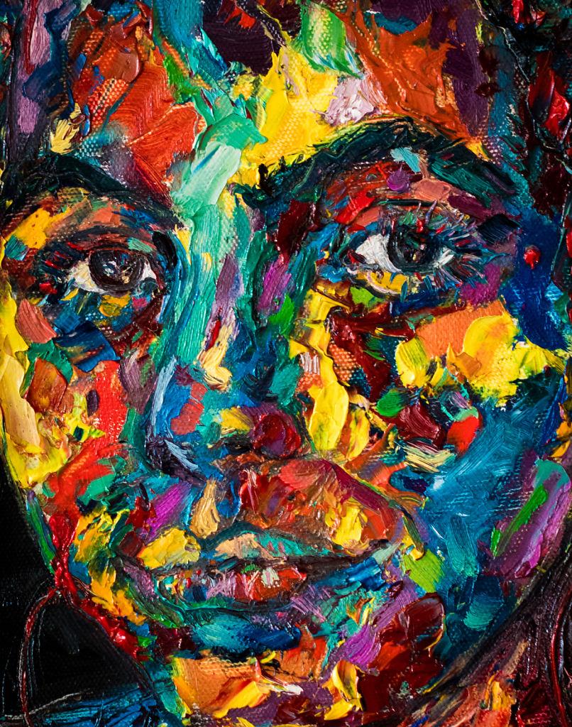 Portrait  of Chiara Brokaw (detail)