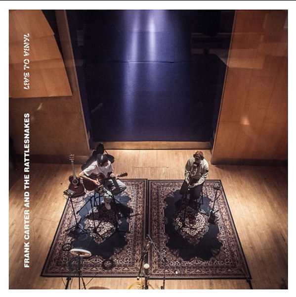 Frank Carter - Live To Vinyl Artwork